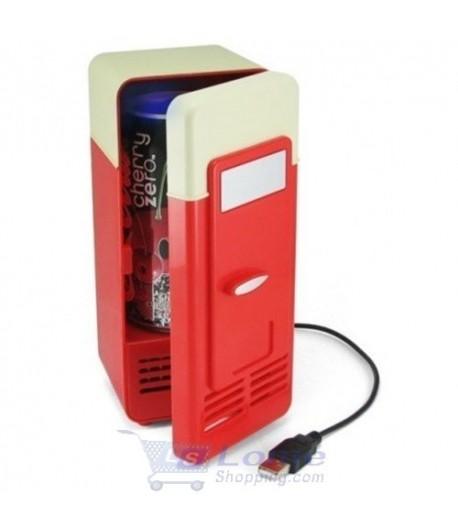 Mini Frigo à USB Réfrigérateur Refroidisseur de Canette