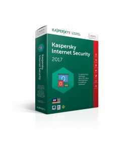 Kaspersky Internet Security 2017 - Licence 1 an 3 postes