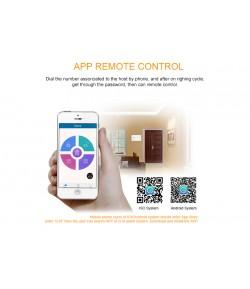 Système d'alarme  de sécurité à domicile en GSM et Android