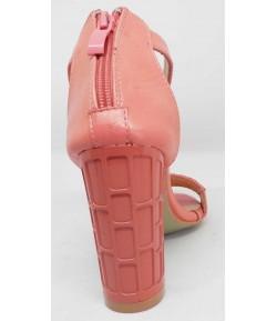 Sandale talon haut avec fermeture ZARA BASIC