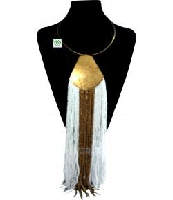 Collier en perle longue