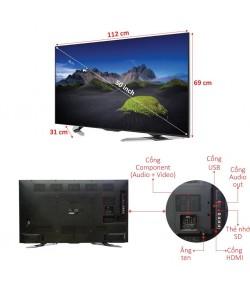 TELEVISION 4K SHARP 50 POUCES