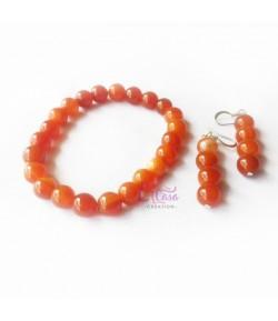Bracelet-Boucles d'oreilles LAH