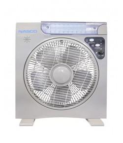 NASCO Ventilateur Rechargeable Eclairage