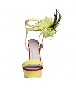 Randivie High Life Heels PISTACHIO GREEN