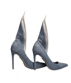 Randivie Jeans Fly Heels BLUE