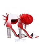 Randivie Down Town Heels RED