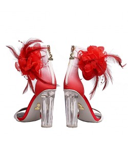 Randivie Down Town Heels RED