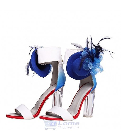 Randivie Down Town Heels BLUE