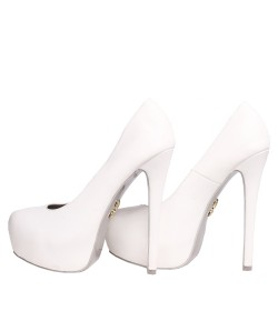 Randivie Fresh Pump Heels WHITE