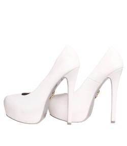Randivie Fresh Pump Heels WHITE