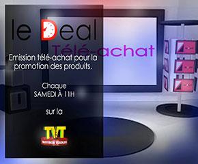 Emission télé-achat sur la TVT