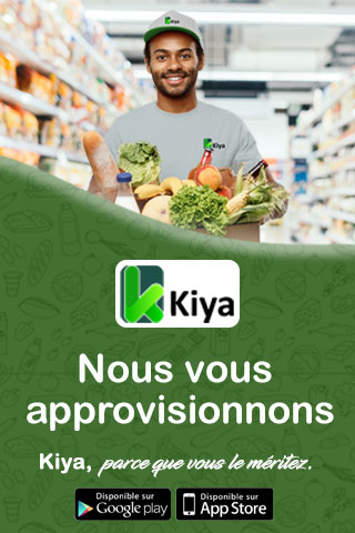 Kiya, application épicerie